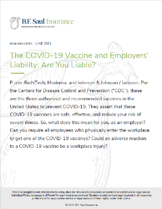 Risk Inisight - The COVID-19 Vaccine and Employers Liability-1