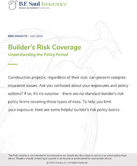 Risk Insight - Builders Risk Coverage Cover